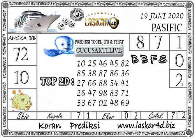 Prediksi Togel PASIFIC LASKAR4D 19 JUNI 2020