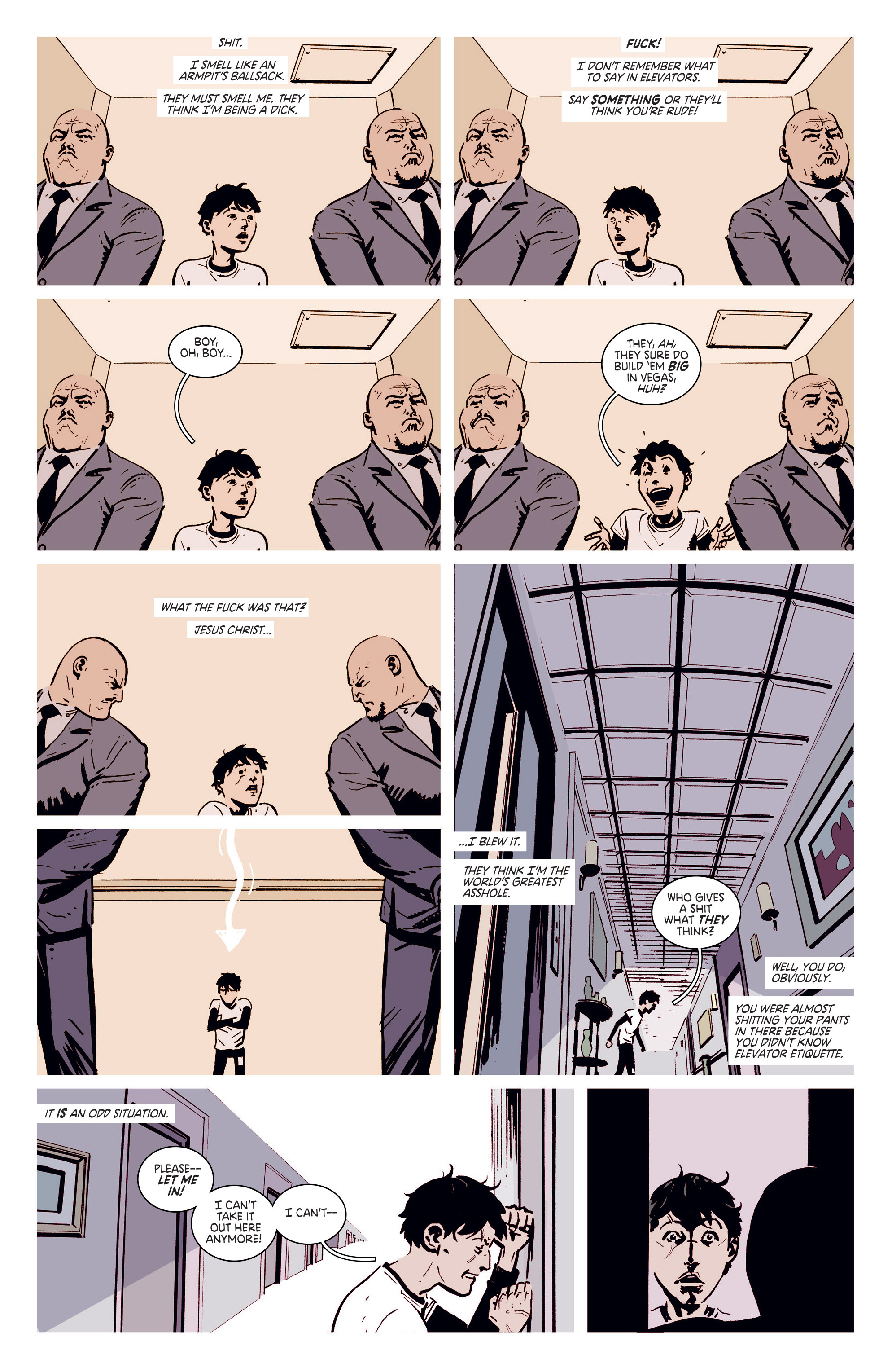 Read online Deadly Class comic -  Issue #5 - 14