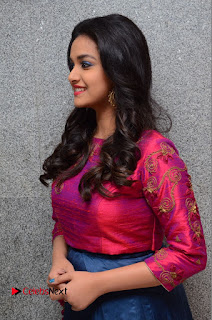 Actress Keerthi Suresh Stills at Remo Success Meet  0055.JPG