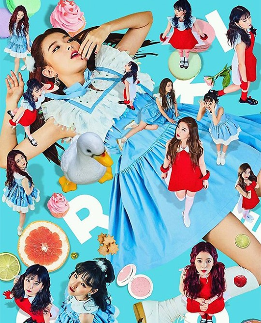 [KKULJAEM] Red Velvet Releases Teaser Photos For 'Rookie