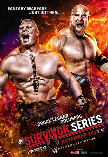 WWE Survivor Series 2016 PPV