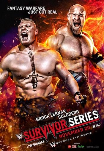 WWE Survivor Series 2016 PPV