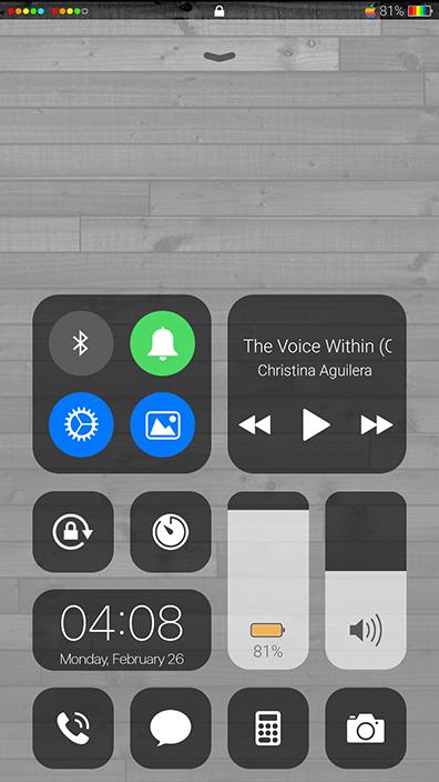Oppo Theme: Oppo Colored IOS Theme