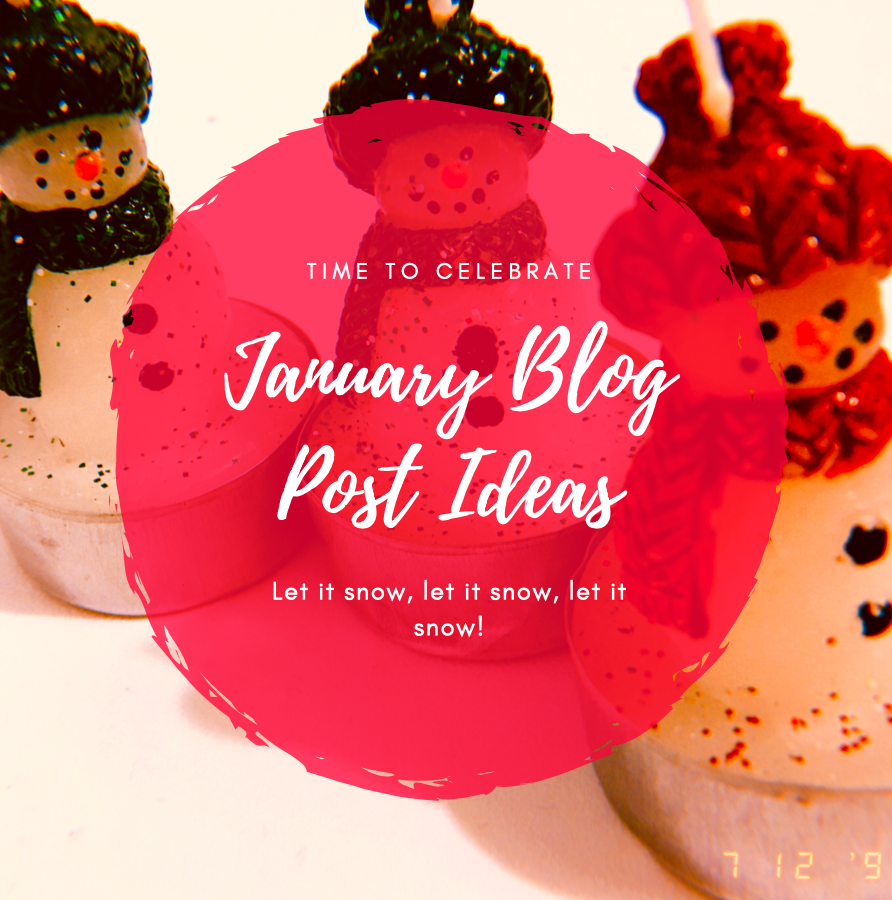 50 Winter Themed Blog Post Ideas