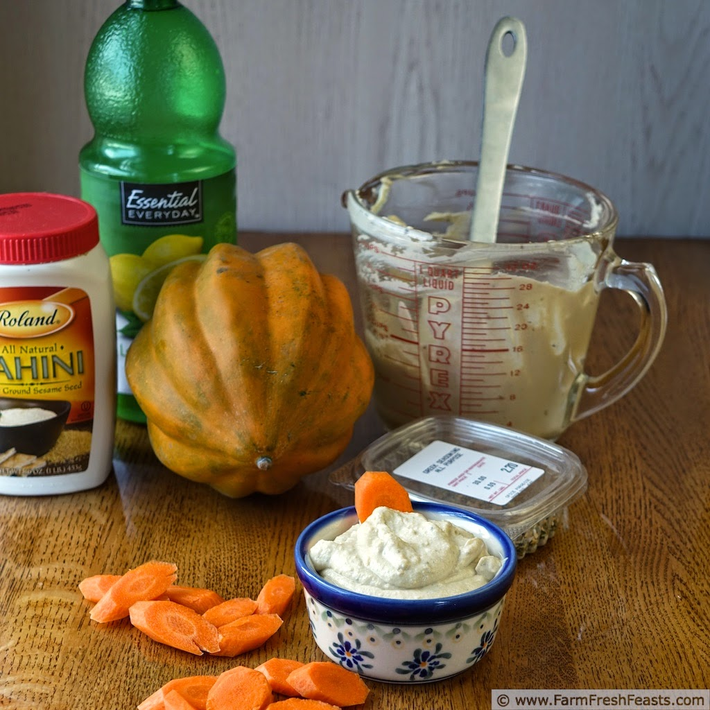 http://www.farmfreshfeasts.com/2014/10/greek-seasoned-acorn-squash-and-tahini.html