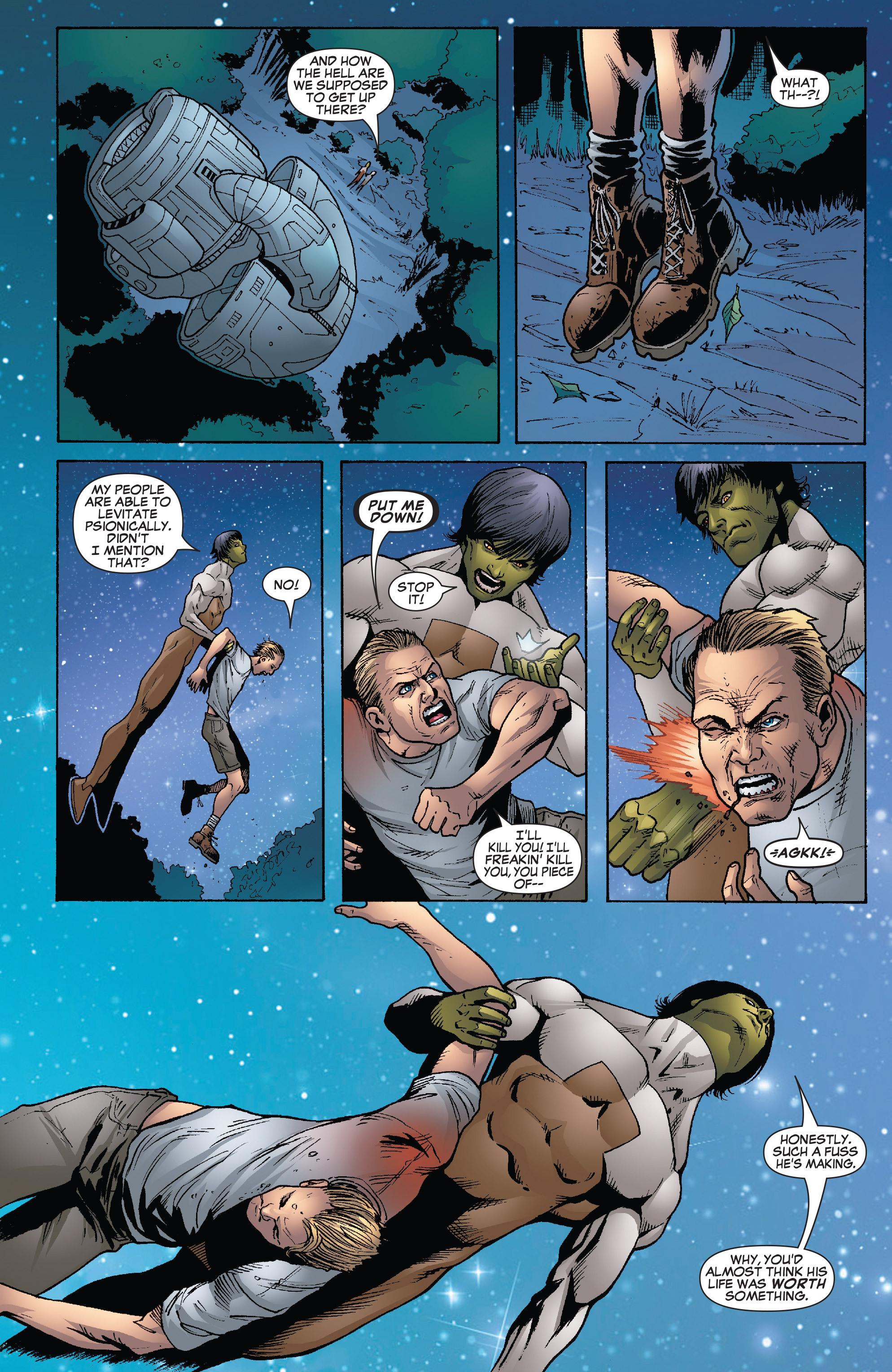 Read online She-Hulk (2005) comic -  Issue #26 - 10