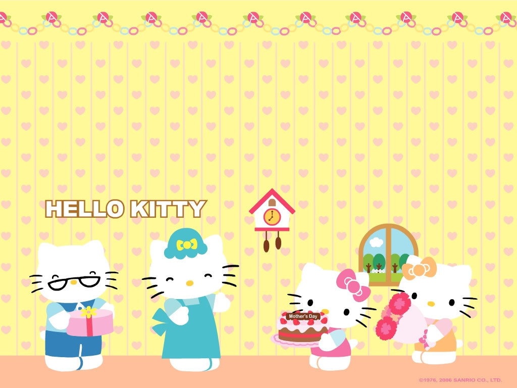 Wallpaper Collection HELLO KITTY WALLPAPER
