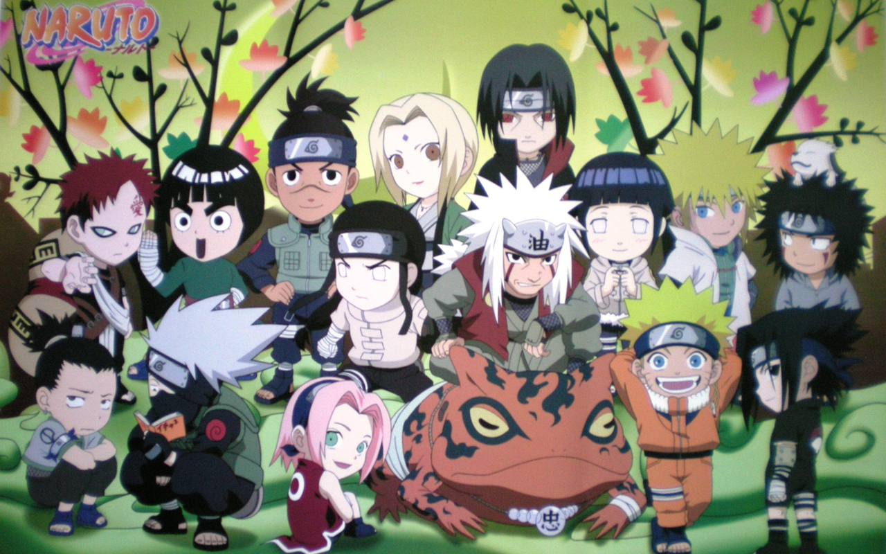 Naruto Widescreen Wallpapers and Story