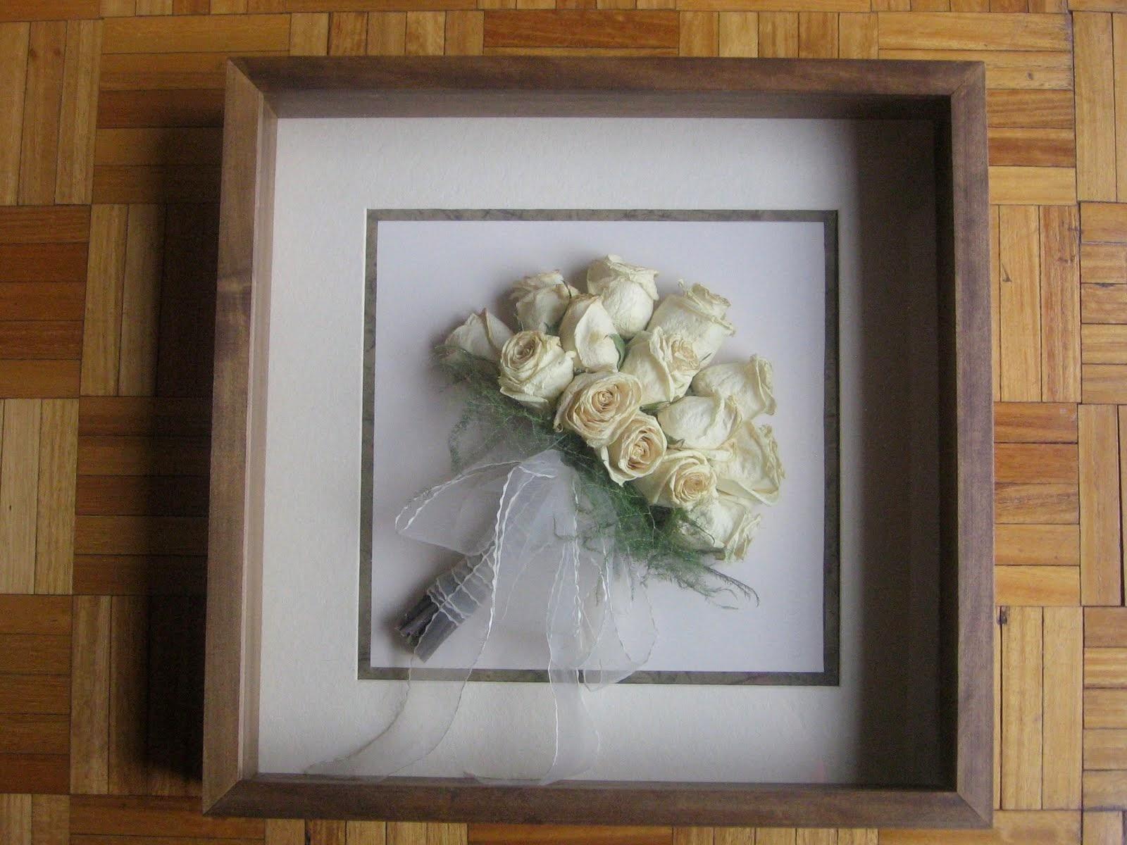 Conservación de ramos de novia
