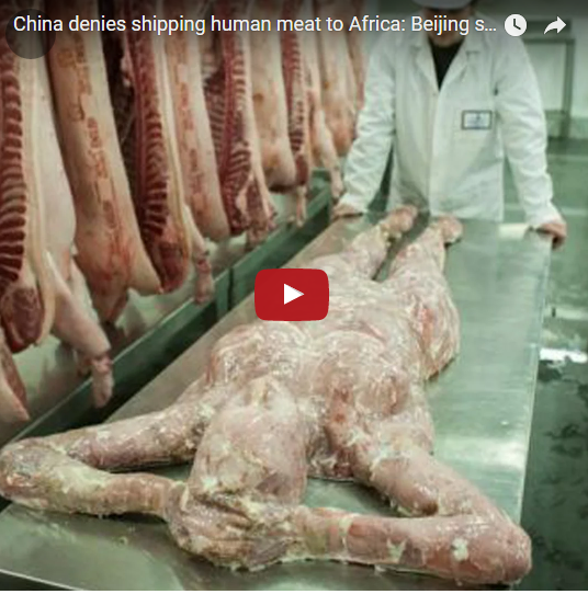 Viral News And Advertorial Writer: SHOCKING : China Uses Human Meat For Corned Beef And Ships