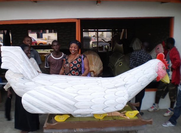 Chicken casket, Coffins are a statement in Ghana Africa