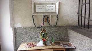 Simple, Yambol, Christmas Greeting, Apartment Block, Entrance Hall,