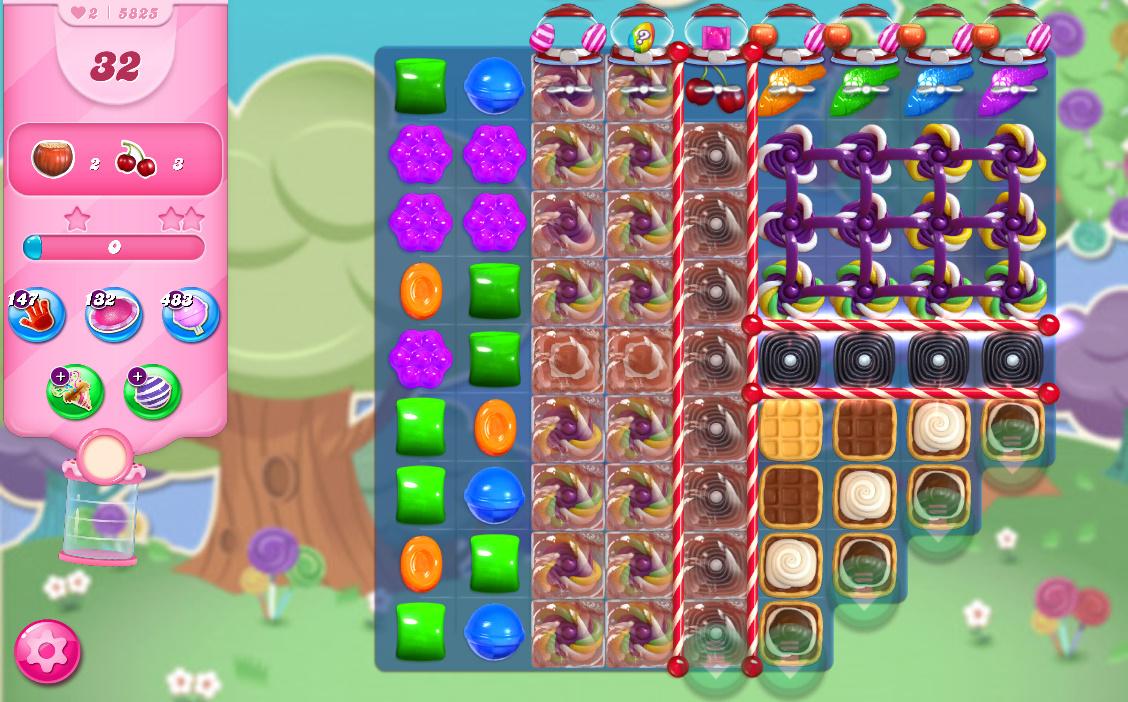 Candy Crush Saga level 5825