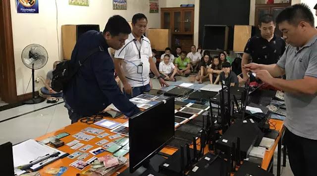 Tipu Pejabat Negara, WNA China dan Taiwan Sindikat Penipuan Raup Rp 9 Triliun