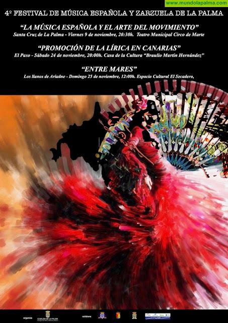 El Teatro Circo de Marte acoge este viernes el primer espectáculo del 'IV Festival de Música Española y Zarzuela'