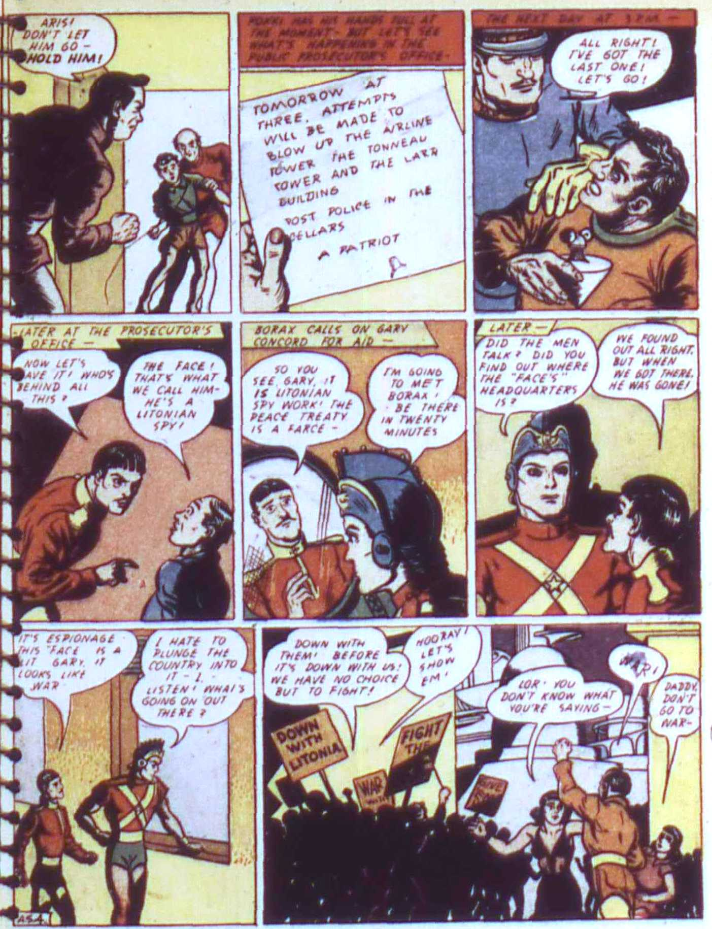 Read online All-American Comics (1939) comic -  Issue #17 - 31