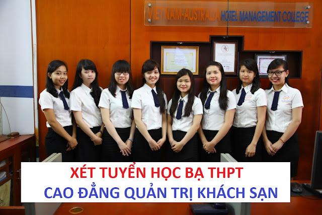 Xét tuyển học bạ THPT vào ngành Quản trị Khách sạn 2017