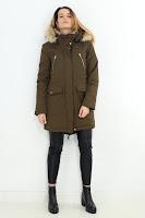 Geaca Zara Dama Warm Inside
