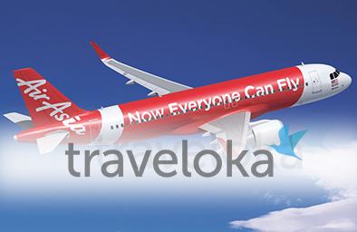 Bajet Flight Dengan Air Asia