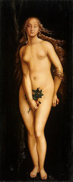 Hans Baldung - Eva - nudo pittorico femminile