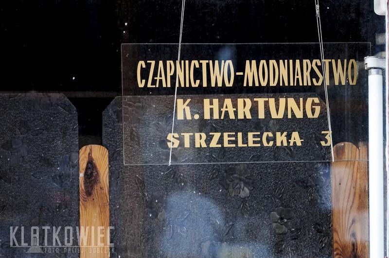 Brodnica: czapnictwo-modniarstwo K. Hartung