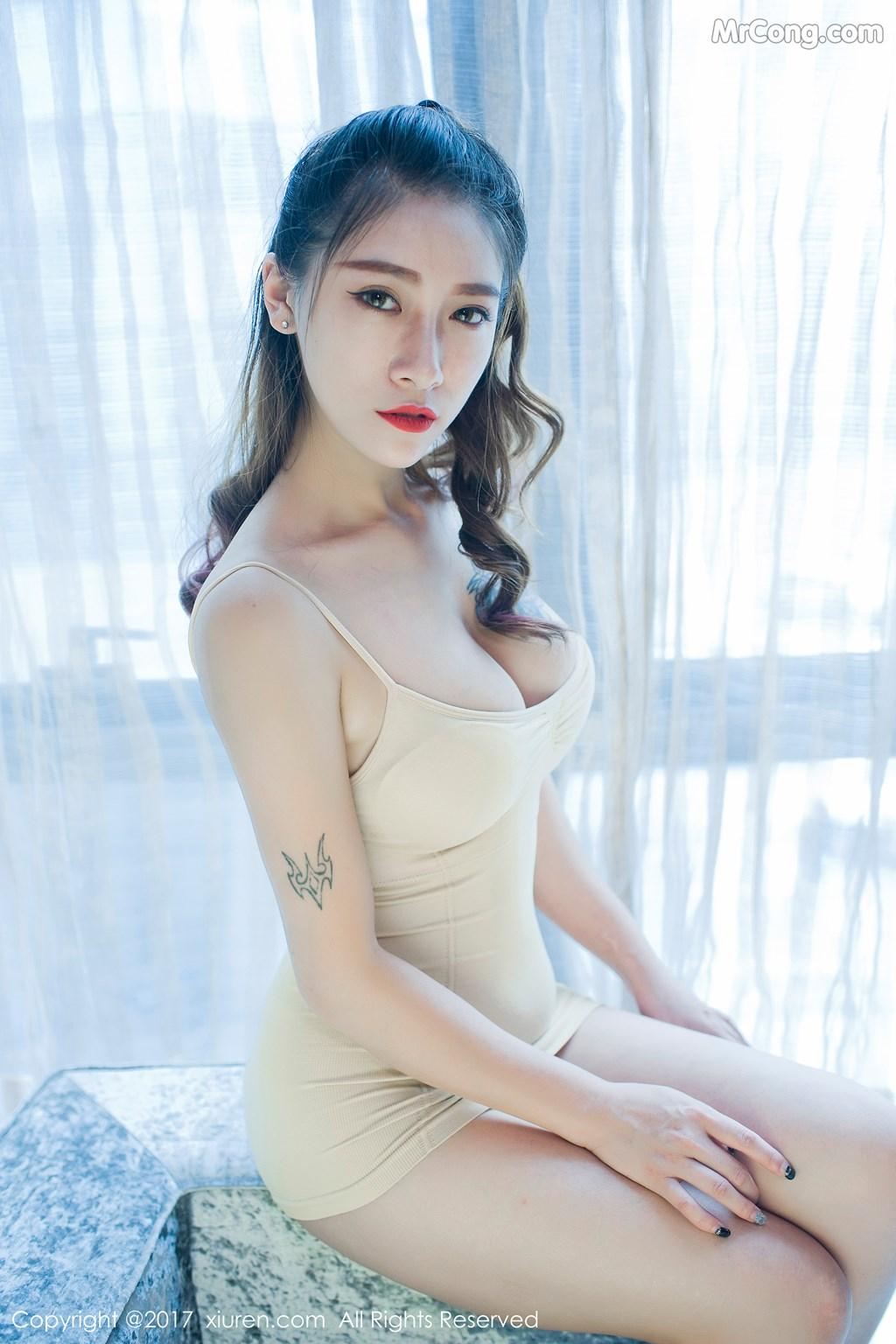 Image XIUREN-No.812-Du-Hua-Hua-MrCong.com-031 in post XIUREN No.812: Người mẫu Du Hua Hua (杜花花) (48 ảnh)