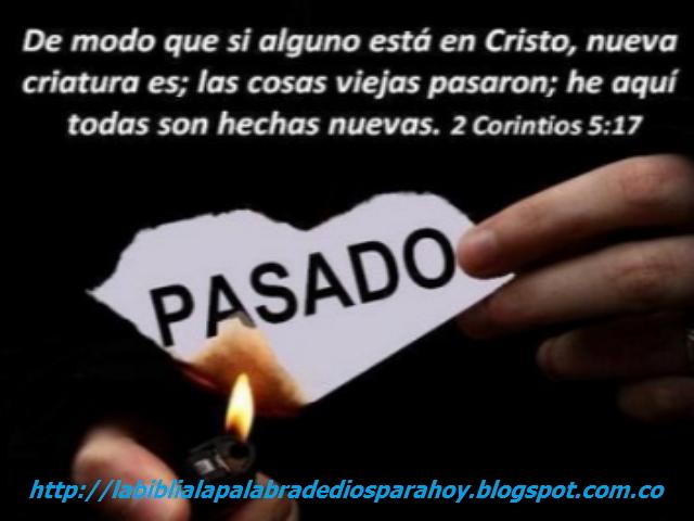 """""""versiculo diario de la biblia para hoy""""-2 corintios 5-17"""