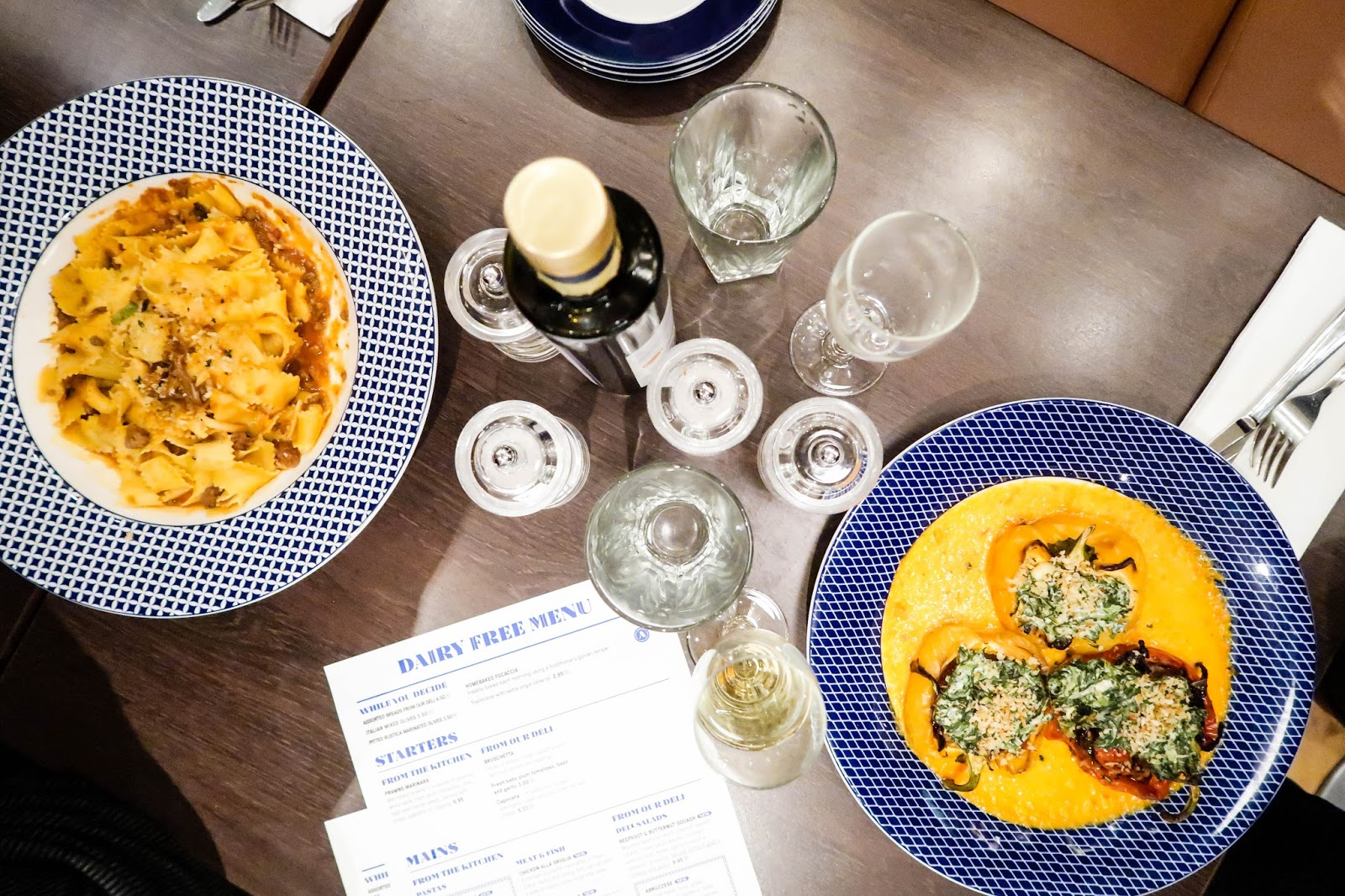 Carluccio's Birmingham Grand Central review