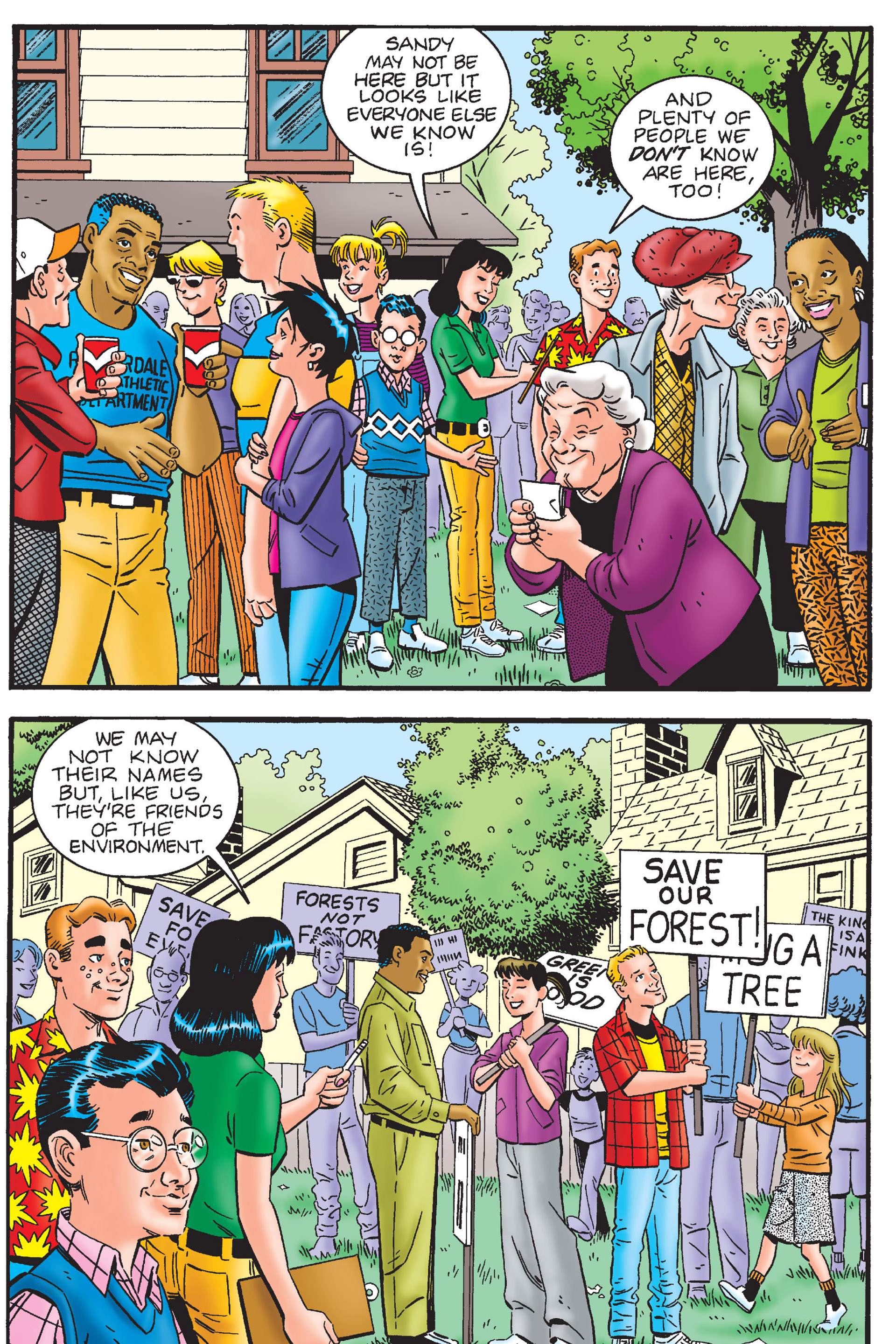 Read online Archie's New Look Series comic -  Issue #4 - 77