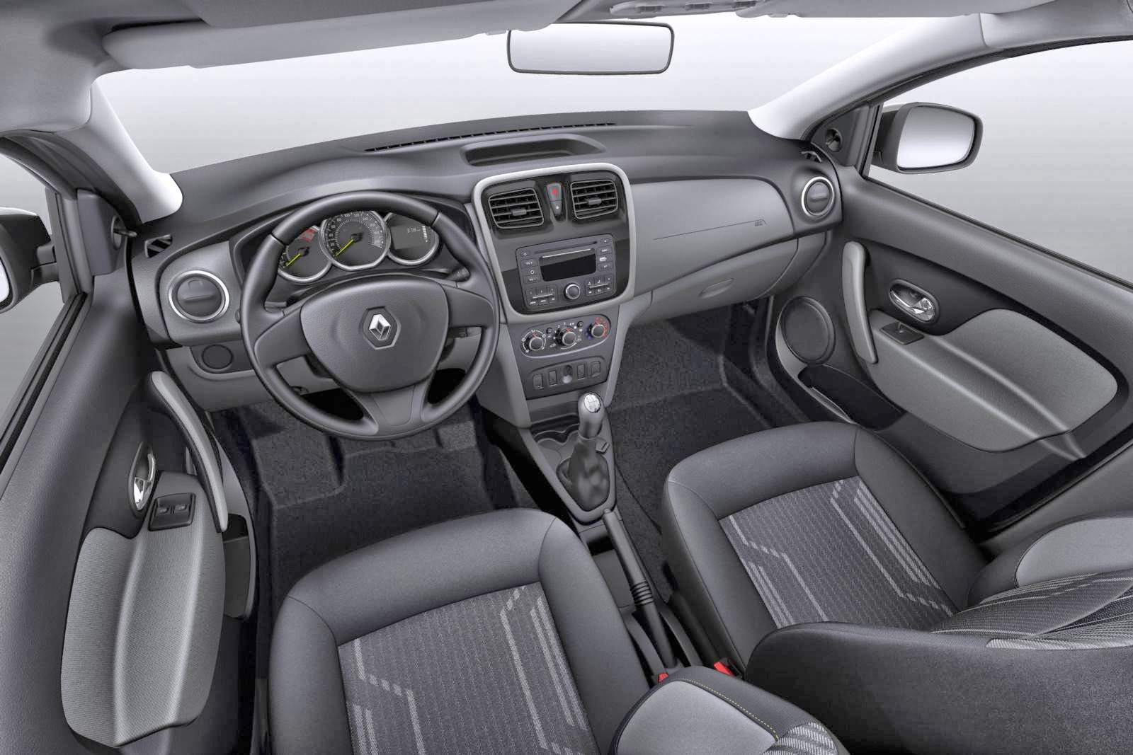 carro Logan Renault 2014 - interior