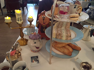 Beauty and the Beast afternoon tea at the Kensington hotel