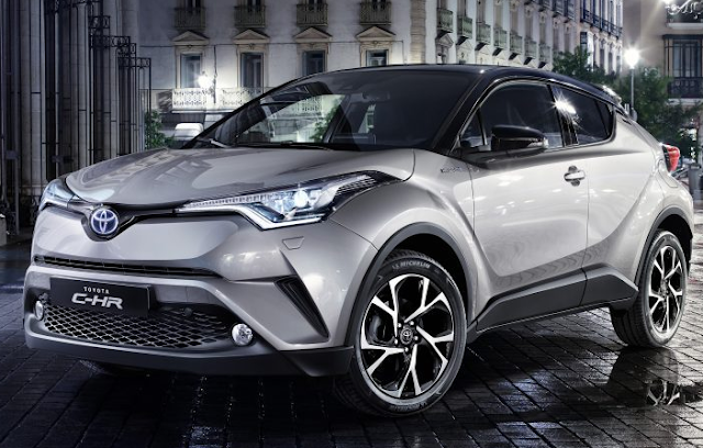 Toyota CHR Mulai Menampakkan Bagian Interiornya