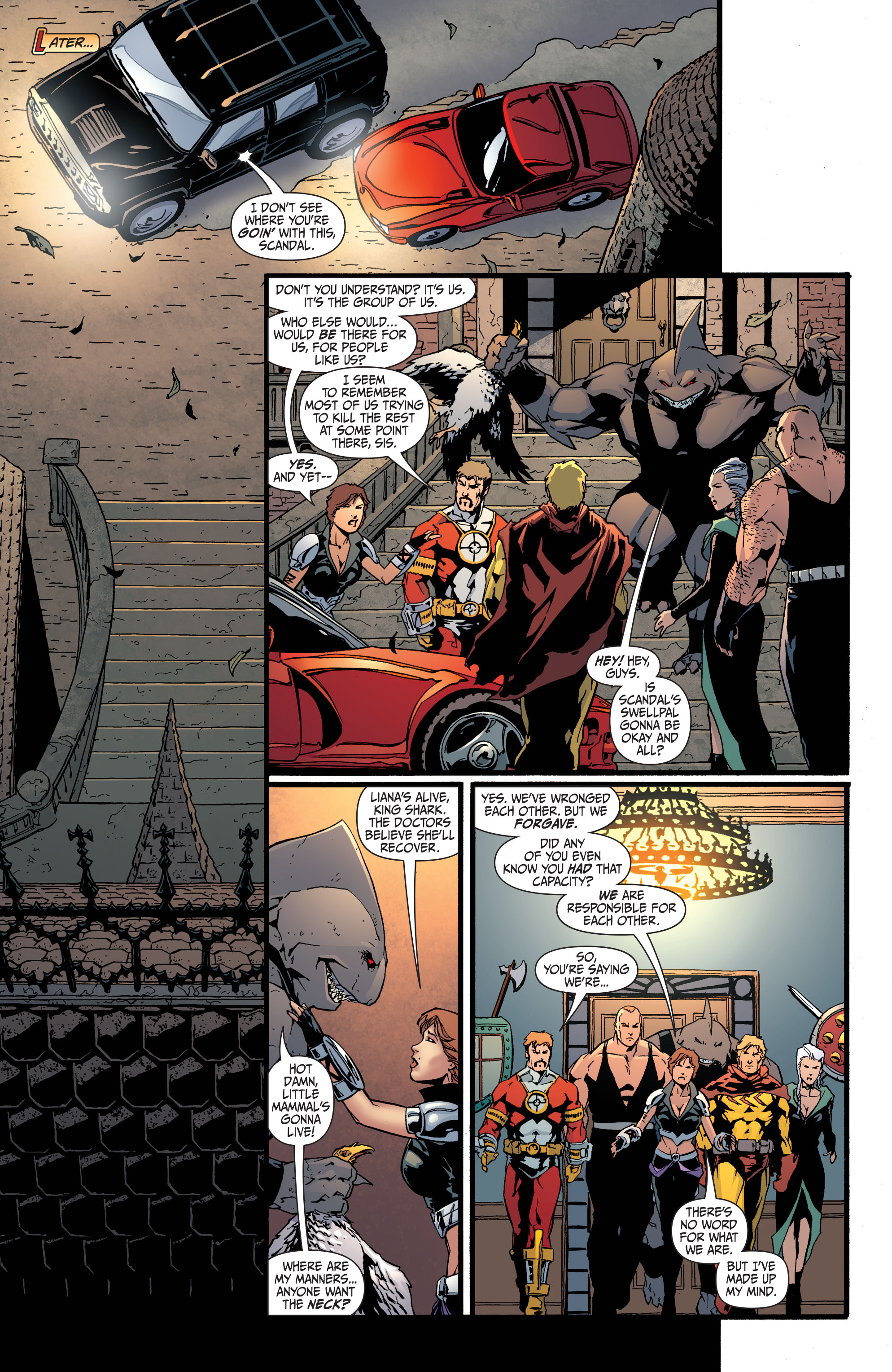 Read online Secret Six (2008) comic -  Issue #34 - 12