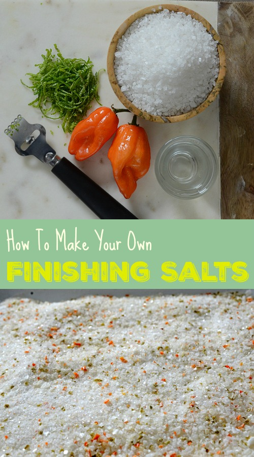 Pro kitchen tip:  Using a fine, flavored salt at the end of cooking elevates your dish.