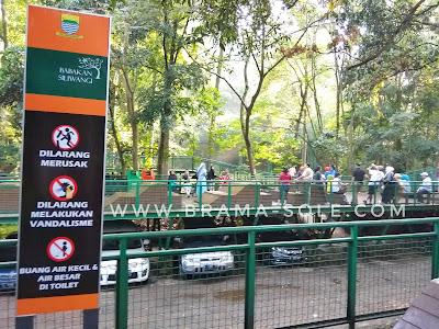 area parkir forest walk babakan siliwangi