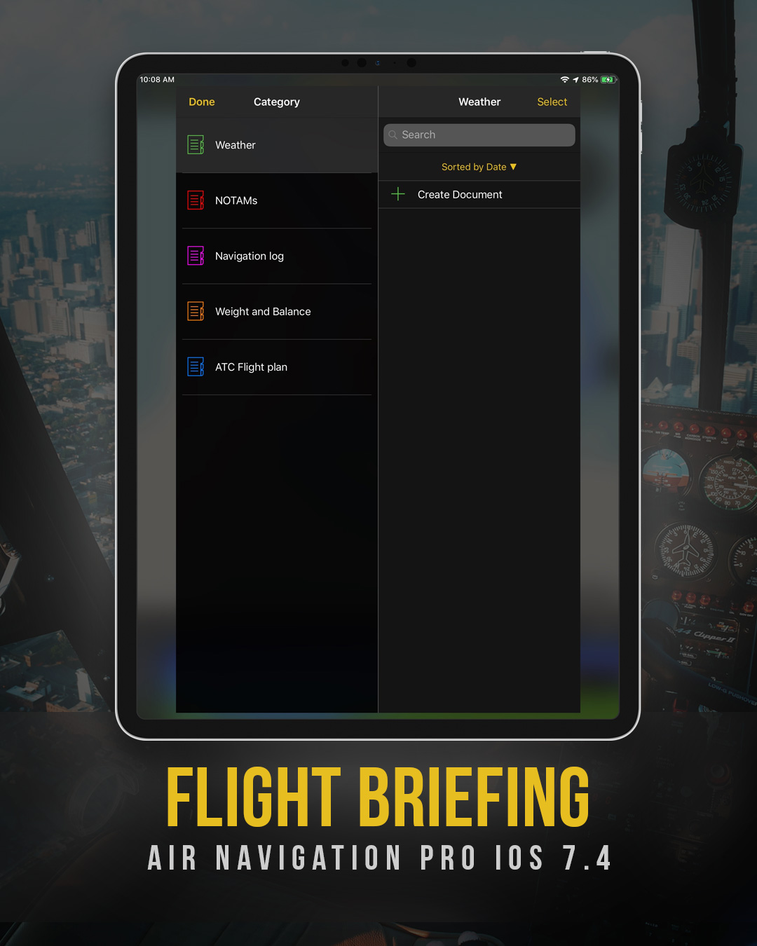 Introducing the Flight Briefing in Air Navigation Pro iOS version