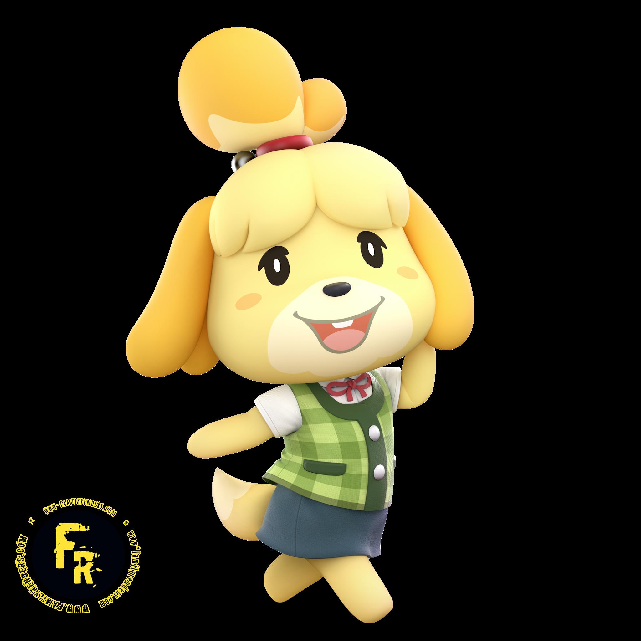 Render Shizue -Isabelle