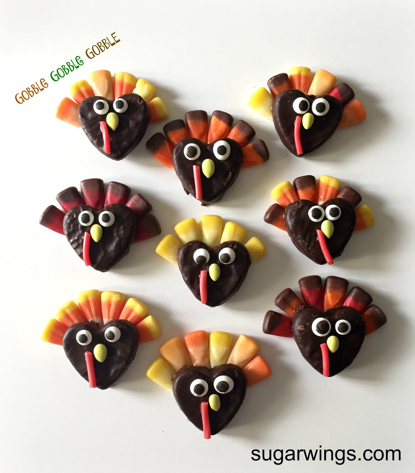 19 Edible Turkey Crafts Thanksgiving Crafts: Sugar Swings! Serve Some: Super Easy Candy Turkeys For