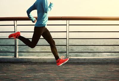 lari vs jalan kaki vs berenang vs angkat berat vs sepeda statis