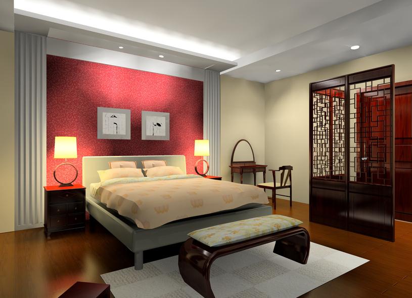 Peinture Chambre à Coucher Rouge
