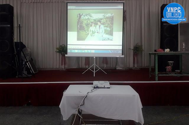 Cho thuê máy chiếu đám cưới tại Hoa Viên Sơn Thủy, Củ Chi