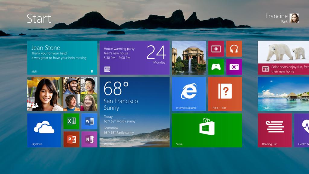 تحميل نسخه ويندوز Windows 8.1 من مايكروسوفت اصليه