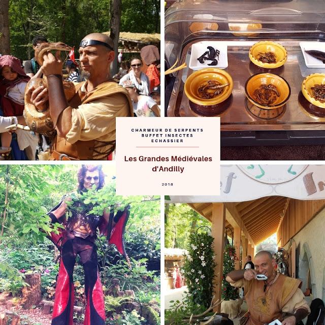 Fakir, charmeur de serpents, échassier, médiévales andilly, linja, fakir linja