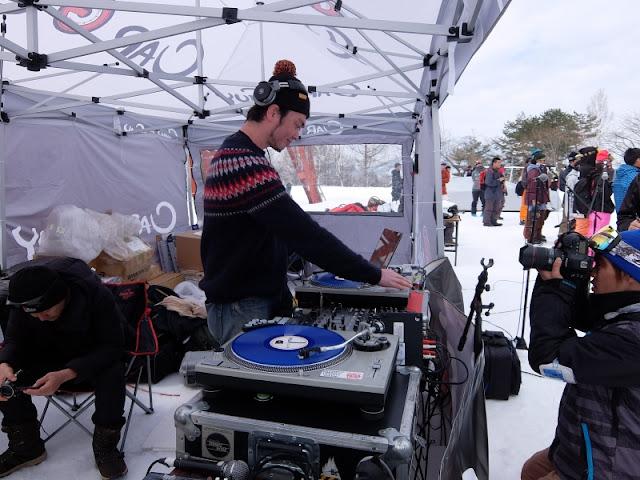 カーガイ スノーフェスティバルでのdj-yasuのdjプレイ模様です。