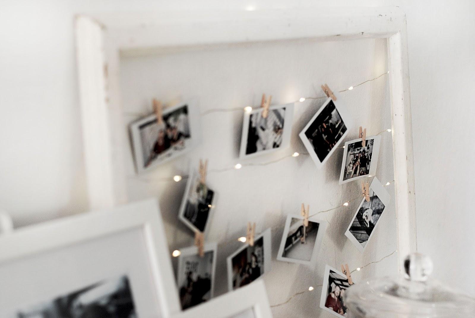 DIY: Polaroid frame - Basics and Gold