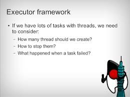 Difference between a Thread and an Executor in Java