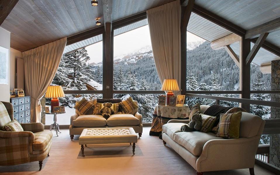 Il mio angolo nel mondo chalet di montagna gli interni for Camere di montagna