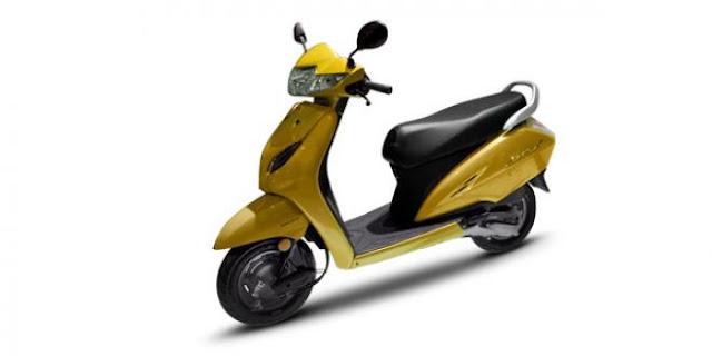 New 2018 Honda Activa 5G yellow hd wallpaper