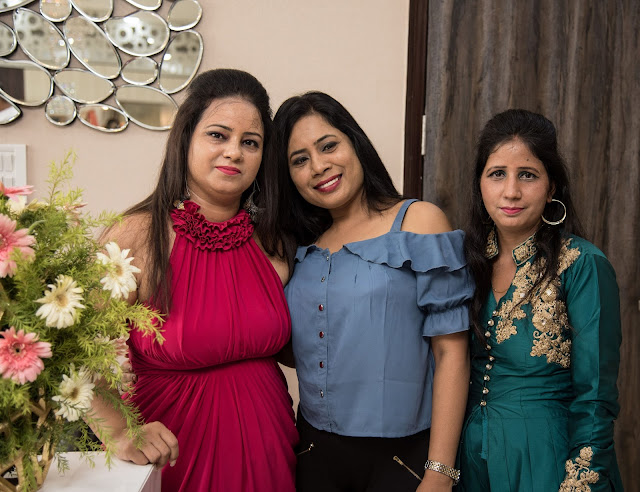 Priya with friends