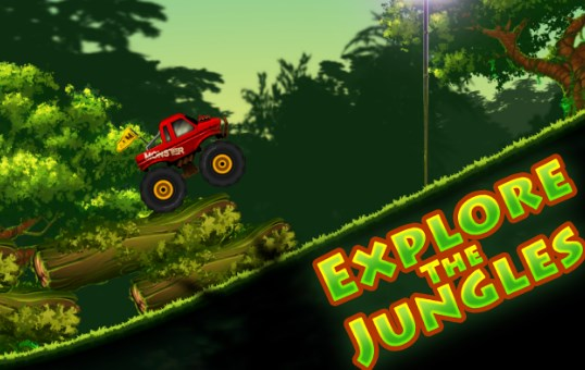 Jungle Monster Truck Kids Race Apk Free on Android Game Download
